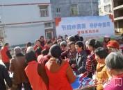 """武平县中堡镇举办""""节约水资源 守护中堡河""""宣传活动"""