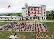 """福建省连城县""""非遗""""武术搬进校园"""