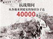 """这组大数据告诉你,延安当年有多红 4万多名知识分子奔赴延安!这里是抗战中的""""光明之城"""""""