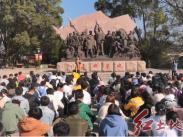 龍巖學院馬克思主義學院組織學生到上杭古田開展現場教學