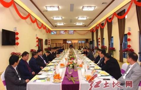 福建省武平县召开驻外商会及企业家代表新春座谈会