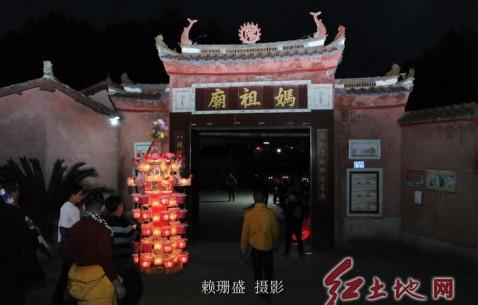 【新春走基层】  福建连城芷溪花灯正月初七出案