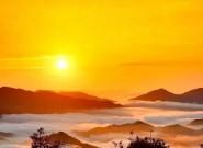 长汀印象︱天邻山日出