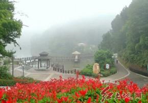 武平县碧水公园晨景(林传府  摄影)
