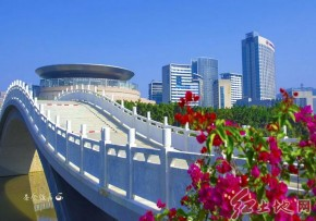 美麗的龍巖市龍津湖(趙芬  攝影)