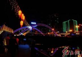 福建龍巖城區夜景美( 林文淮  攝影)