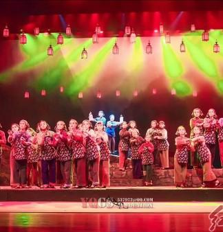 閩西漢劇《伯公燈》(陳重廈  攝影)