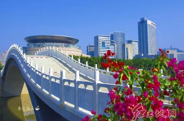 美丽的龙岩市龙津湖(赵芬  摄影)