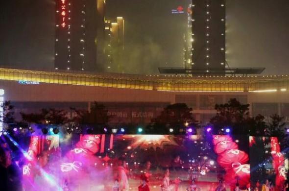 漂亮!龍巖市唱響紅古田元宵燈會(攝影/張永輝)